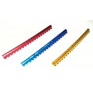 Anilhas Aluminio Exoticos 2,5mm (Serie c/ 20 unidades)