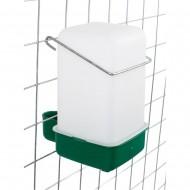 Bebedouro para Jaula c/ Aro de Fixação - 1 Litro