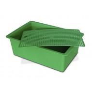 Cubeta verde ninho plano GYC coelhos