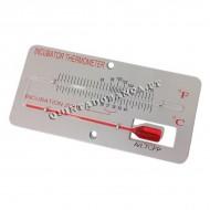 Termómetro Base Metal TCFP Alcool Vermelho