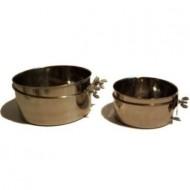 Taça Inox 9,5cm / 260ml Fixação Rede
