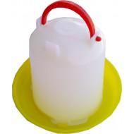 Bebedouro Manual 1L Branco / Amarelo