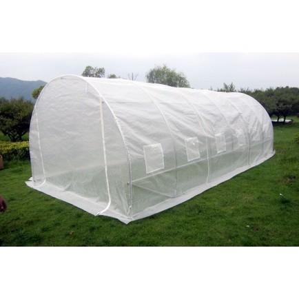 Estufa Agricola Top 6 x 3 x 2,3m (tubo 25mm) Branca