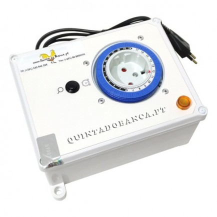 Controlador SIMPLES p/ Luz Led Passaros C/ Caixa