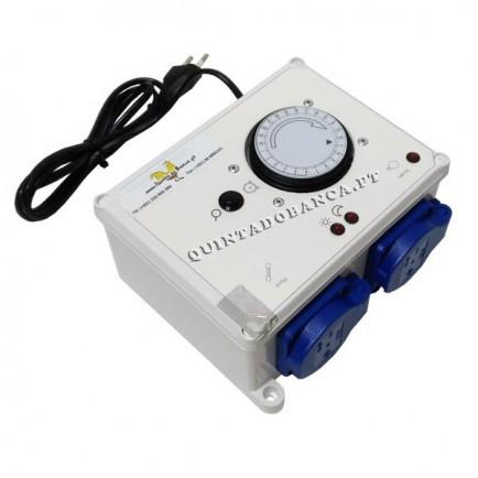 Controlador AVANÇADO p/ Luz Led Passaros C/ Caixa