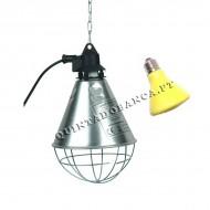 Refletor c/ Lâmpada 100w Spark Cerâmica