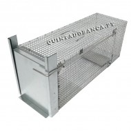 Armadilha Captura Gatos Super ECO 60x25x23cm