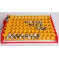 Tabuleiro 132 ovos Codorniz c/ Motor de Rotação