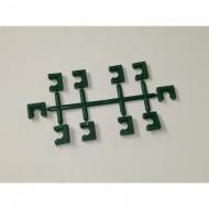 Peças Plásticas p/ Ninhos 14x11x5mm (Pente c/ 10 uni)
