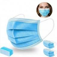 Máscaras Descartáveis Anti-Bacterianas (Pack 10 uni)