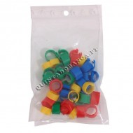 Anilhas 8mm Multicolor - Pack 40 Unid.