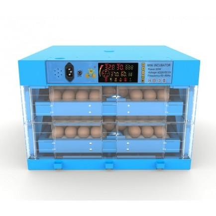 Incubadora Ecotek 128 c/ Kit Rolos e Humidade Automática